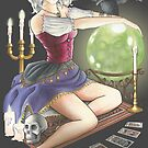 Haunted Mansion Pin-up by Jeremy Kohrs