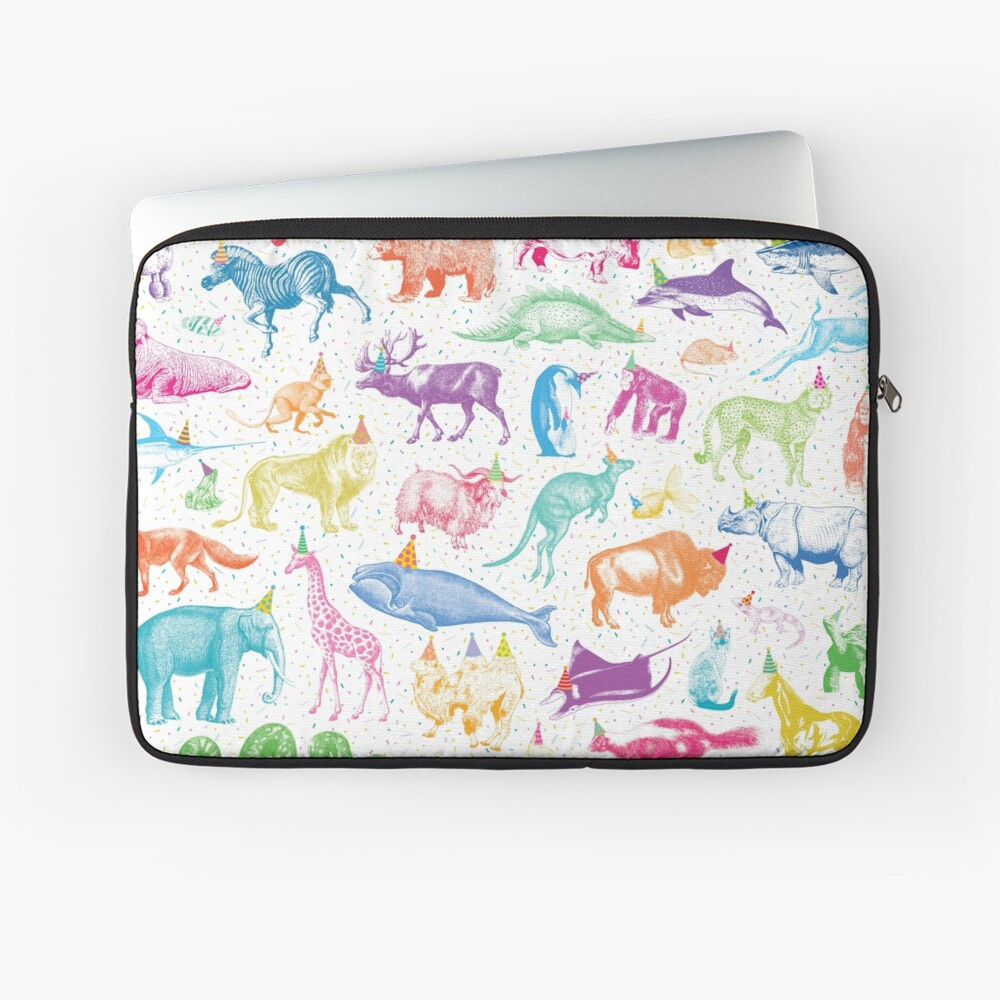 Party Animals Laptop Sleeve