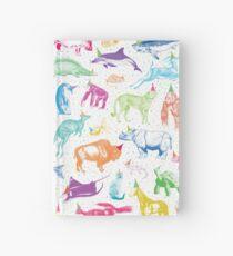 Cuaderno de tapa dura Animales de fiesta