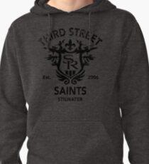 Saints Row 3 Tribute Distressed Black Pullover Hoodie