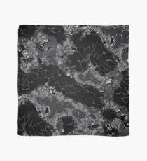 Animal print design - black dragon Scarf