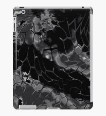 Animal print design - black dragon iPad Case/Skin