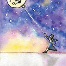 Balloon Moon by Amy-Elyse Neer