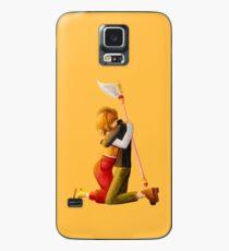 Sakura and Syaoran's hug Case/Skin for Samsung Galaxy