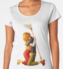 Sakura and Syaoran's hug Women's Premium T-Shirt