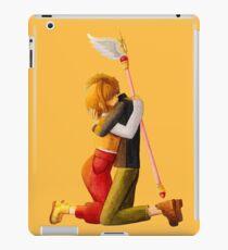Sakura and Syaoran's hug iPad Case/Skin