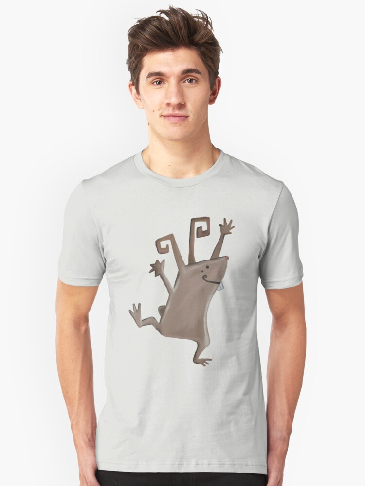 Rabbit Unisex T-Shirt Front