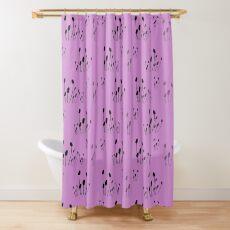Lavender botanical Shower Curtain