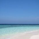 Maldives Perfect Beach by John Dalkin
