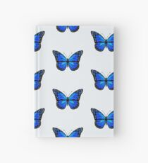 Blue butterfly Hardcover Journal