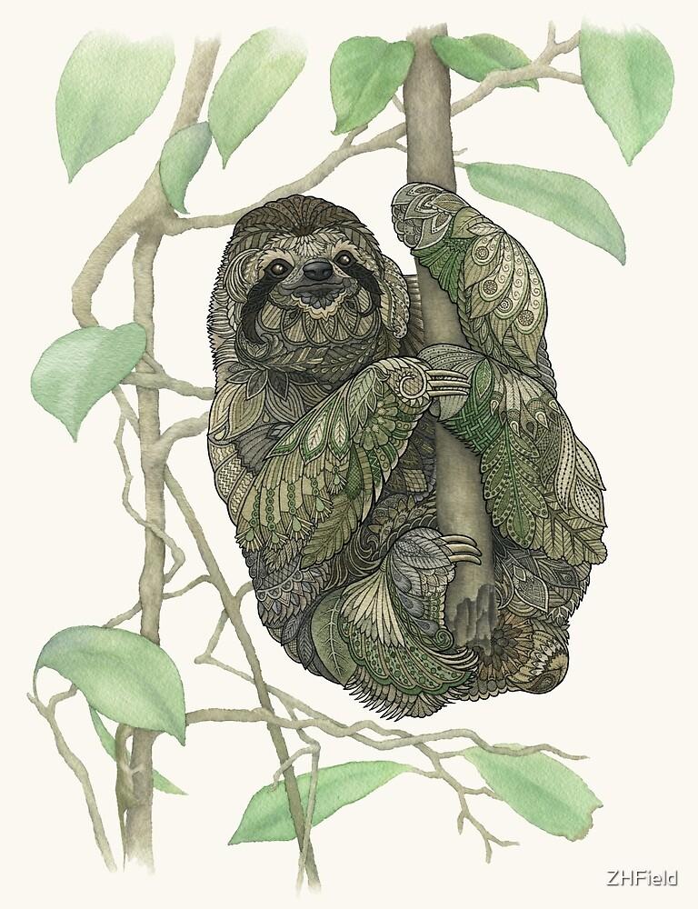 Sloth by ZHField