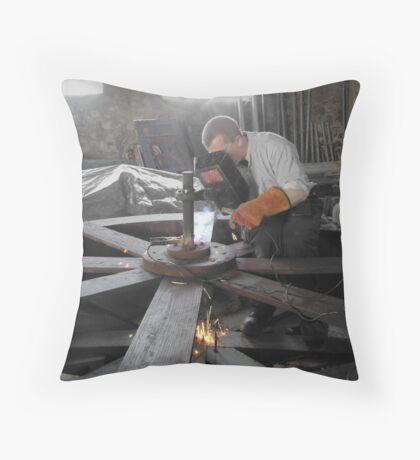 Focussed Throw Pillow