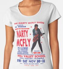 THE MARTY MCFLY SHOW - POST Women's Premium T-Shirt