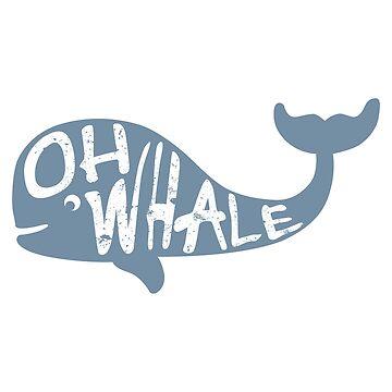 Oh ballena de LH-Creative