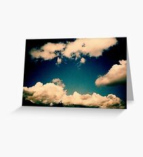 Last Sky Greeting Card