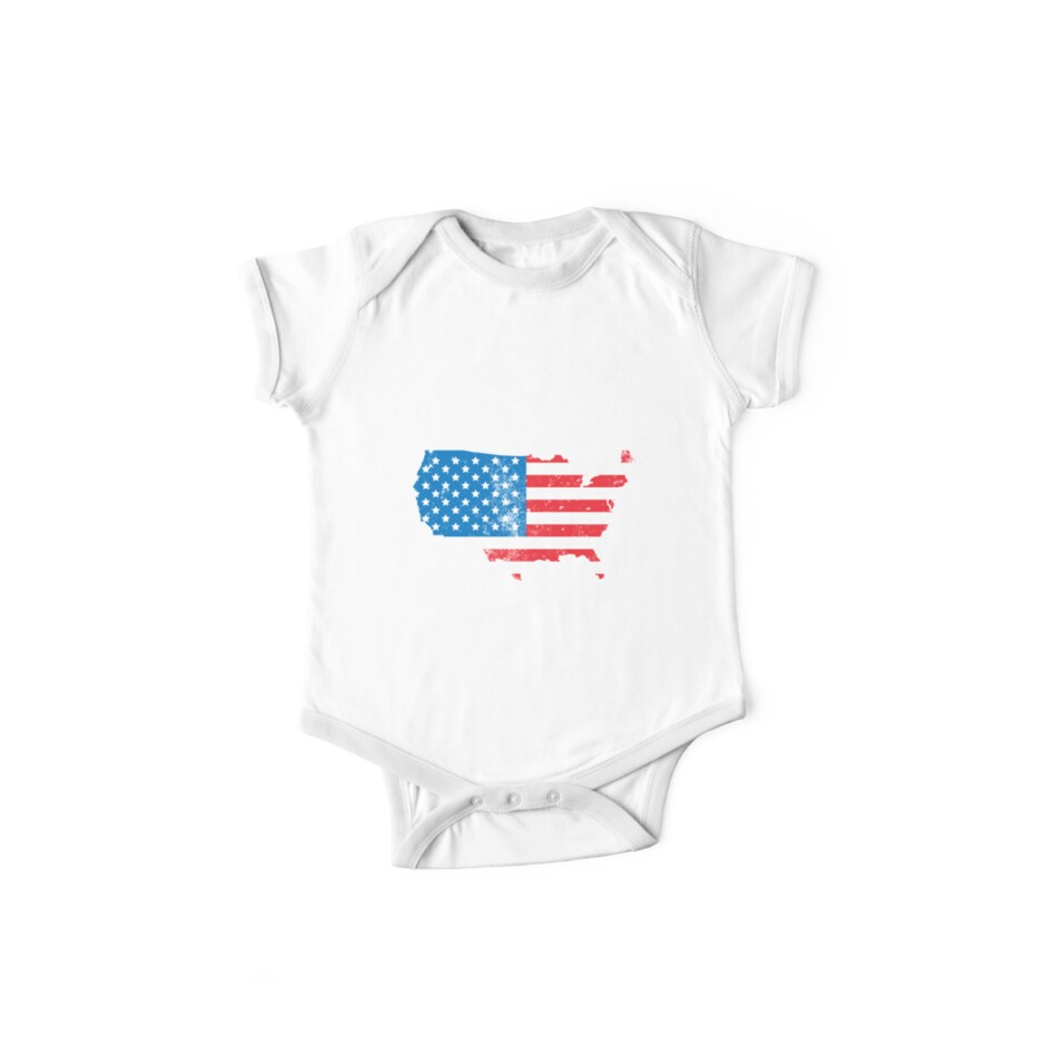 bd5e13930 American FLag Map Captain Funny Political Parody USA 4th of July Graphic  Tees T shirts