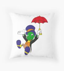 Let your conscience be your guide Throw Pillow