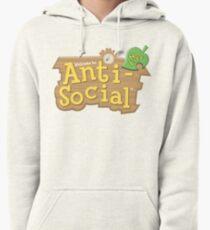 Animal Crossing Anti-Social Pullover Hoodie