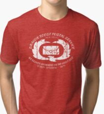 Dragon Roost Island Postal Service. Zelda - Wind Waker Tri-blend T-Shirt