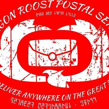 Dragon Roost Island Postal Service. Zelda - Wind Waker by 8-bit-hobo