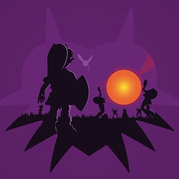 Dawn of the Final Day (Majoras Mask) by 8-bit-hobo