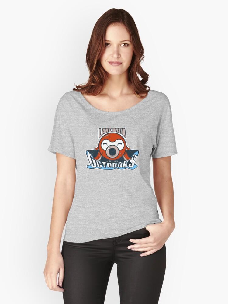 Lake Hylia Octoroks - Team Zelda Women's Relaxed Fit T-Shirt Front