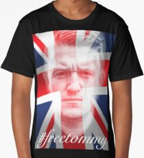 Tommy Robinson #freetommy Long T-Shirt