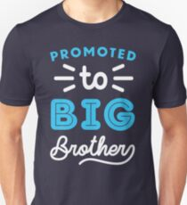 Promoted To Big Brother Shirt Slim Fit T-Shirt