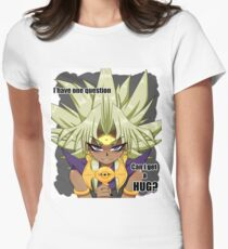 Marik Ishtar from Yugioh ( Abridged quote )  Women's Fitted T-Shirt