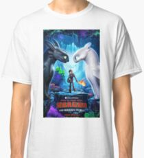 httyd 3 poster Classic T-Shirt
