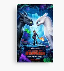 httyd 3 poster Canvas Print