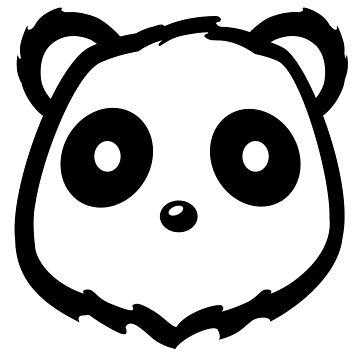 Panda Head by pda1986