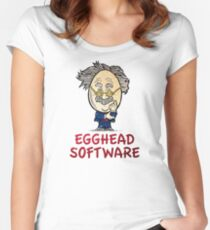 Egghead Software Women's Fitted Scoop T-Shirt