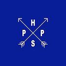 PACIFIC PREP HIGH SCHOOL - WHITE by brettbiaggio