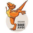 T-rex dancer by bluimedia