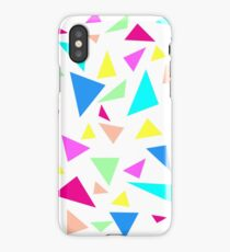 90s Triangles Pattern iPhone Case