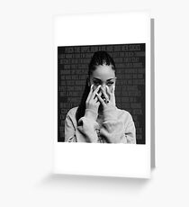 Bhad Bhabie - From the D to the A Greeting Card