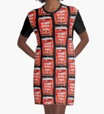 Leader of The pack Graphic T-Shirt Dress