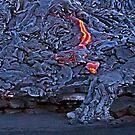 Kilauea Volcano Lava Flow. 2 by Alex Preiss