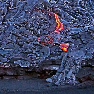 Kilauea Volcano Lava Flow. 2 by alex4444