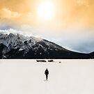 Walking on Frozen Lake by Luke Baker