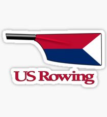 Blade for US Rowing Team Sticker