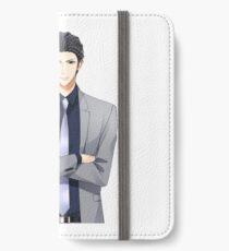 Kissed By The Baddest Bidder - Soryu's Half Sprite  iPhone Wallet/Case/Skin