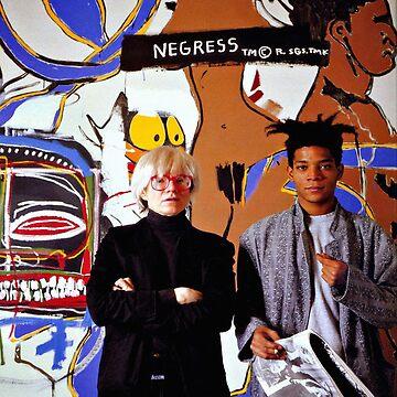 Warhol y Basquiat de electricgal