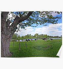 Classic Country Scene Poster