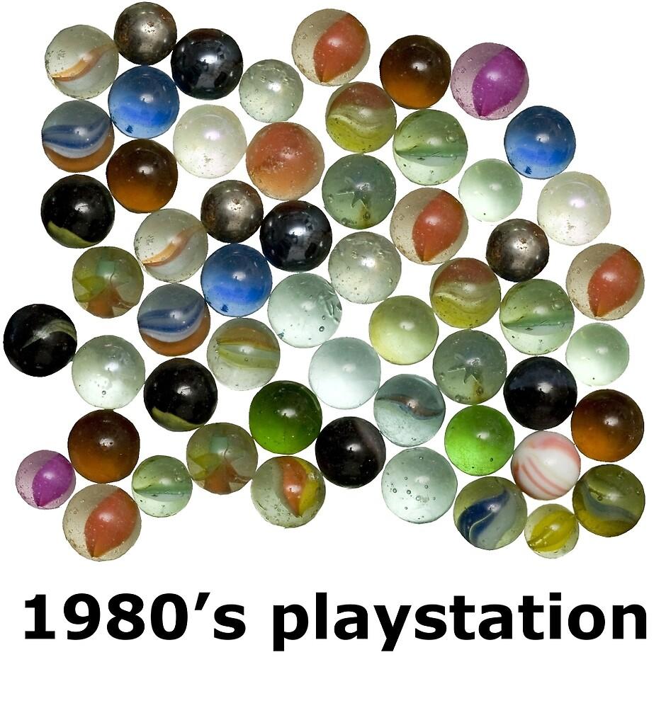 1980's Playstation by jenterpixels