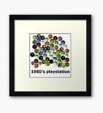 1980's Playstation Framed Print