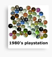 1980's Playstation Canvas Print