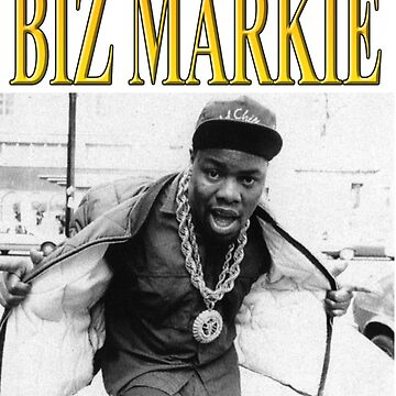 BIZ MARKIE // 1990s Hip Hop // Vintage Inspired Design by charlierain