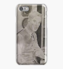 Benedict Cumberbatch Library iPhone Case/Skin